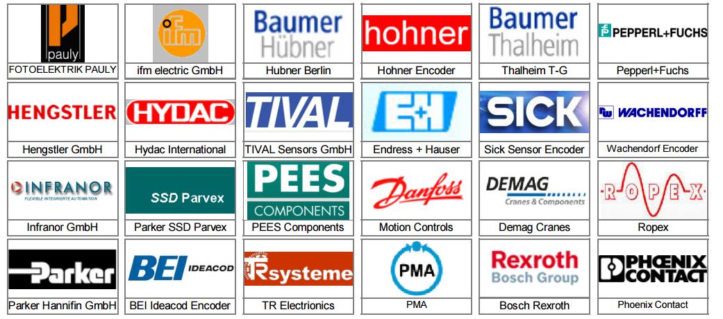 Industrial European Parts 1